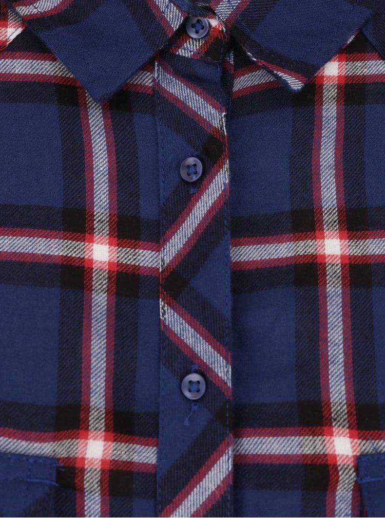 Modro-červená kostkovaná košile TALLY WEiJL