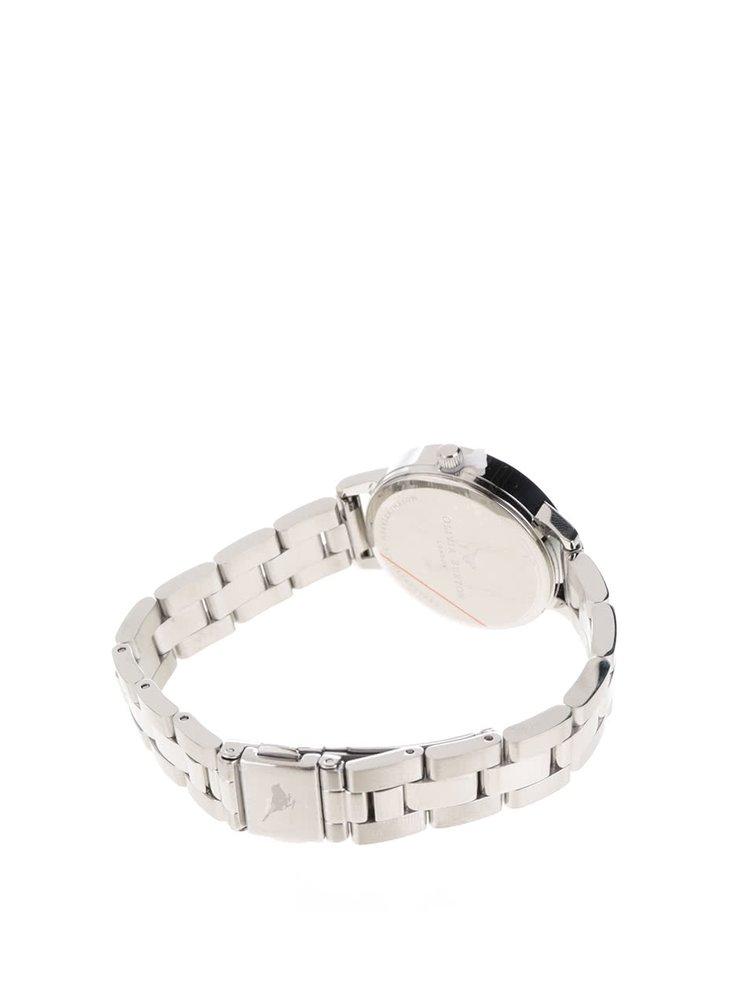 Hodinky ve stříbrné barvě s nerezovým páskem Olivia Burton