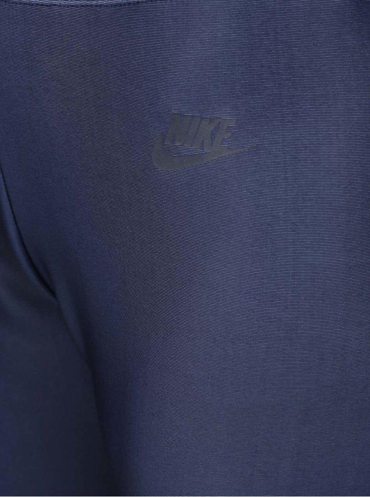 Modré dámské legíny Nike Sportswear