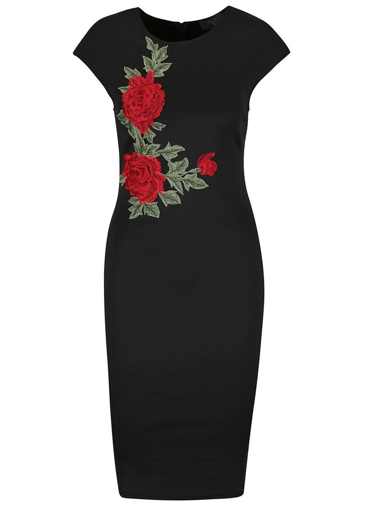 Rochie neagră AX Paris cu model