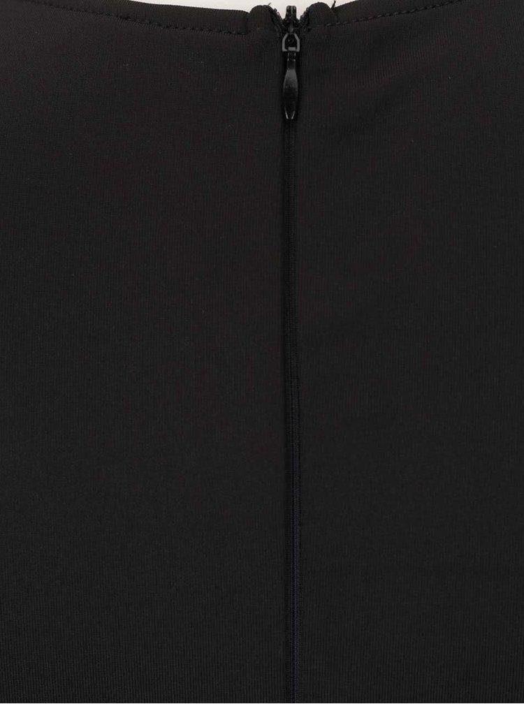 Rochie neagra AX Paris cu model