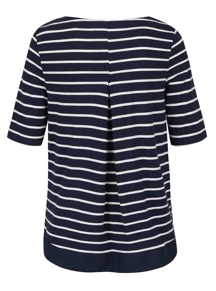 Bluza albastru cu alb in dungi VERO MODA Sui