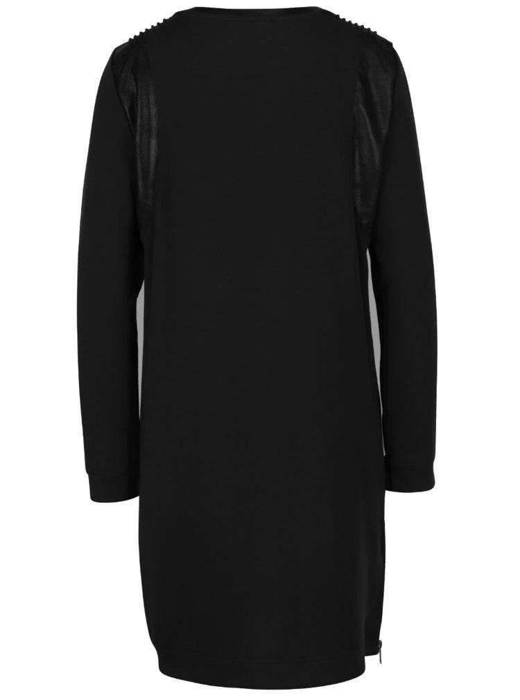 Černé šaty s dlouhým rukávem VERO MODA Cool
