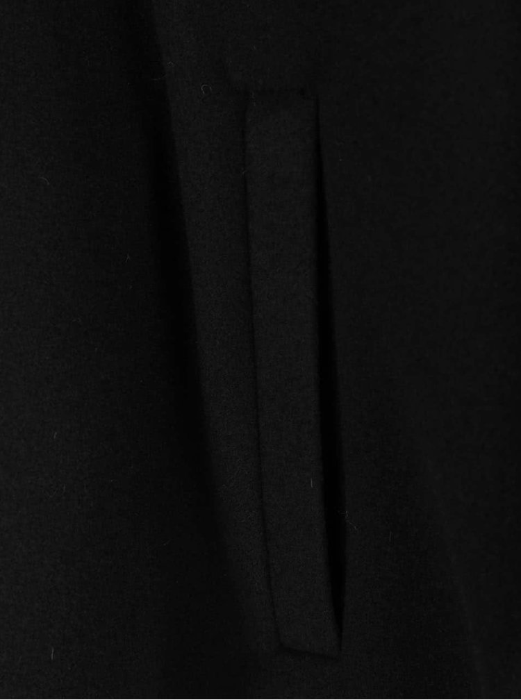 Poncho negru cu cordon VERO MODA Starry