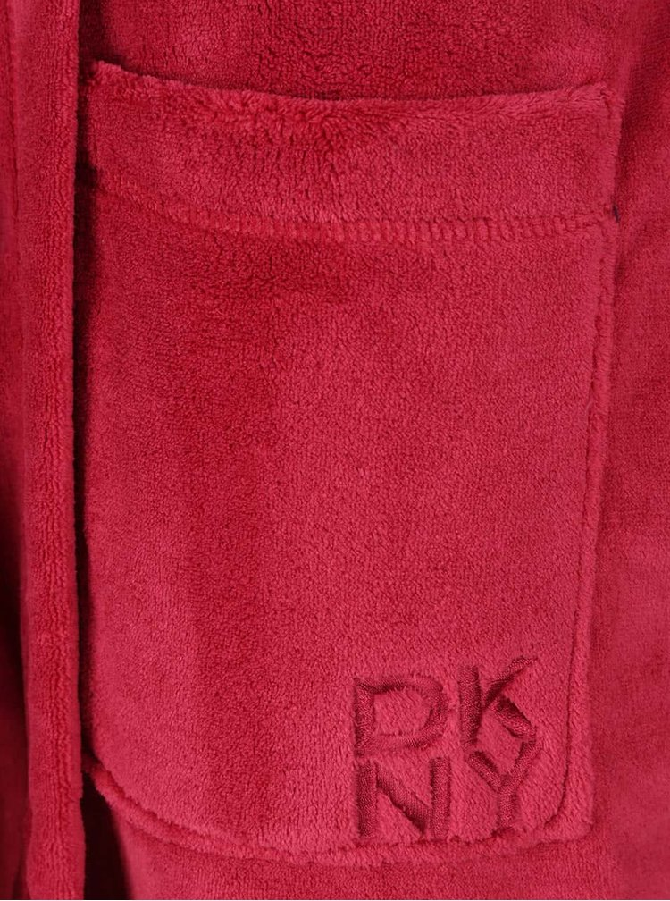 Červený župan DKNY