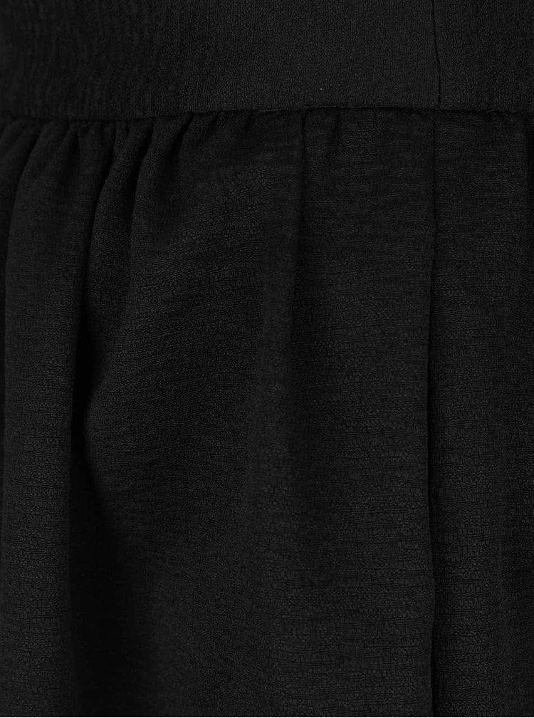 Černá nařasená sukně VERO MODA Lea