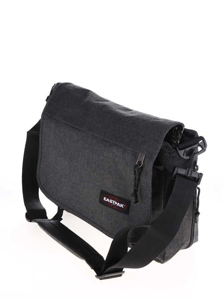 Tmavosivá taška cez rameno Eastpak Delegate