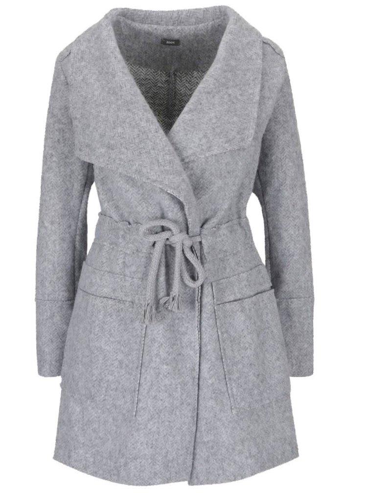 Palton gri deschis ZOOT Simple