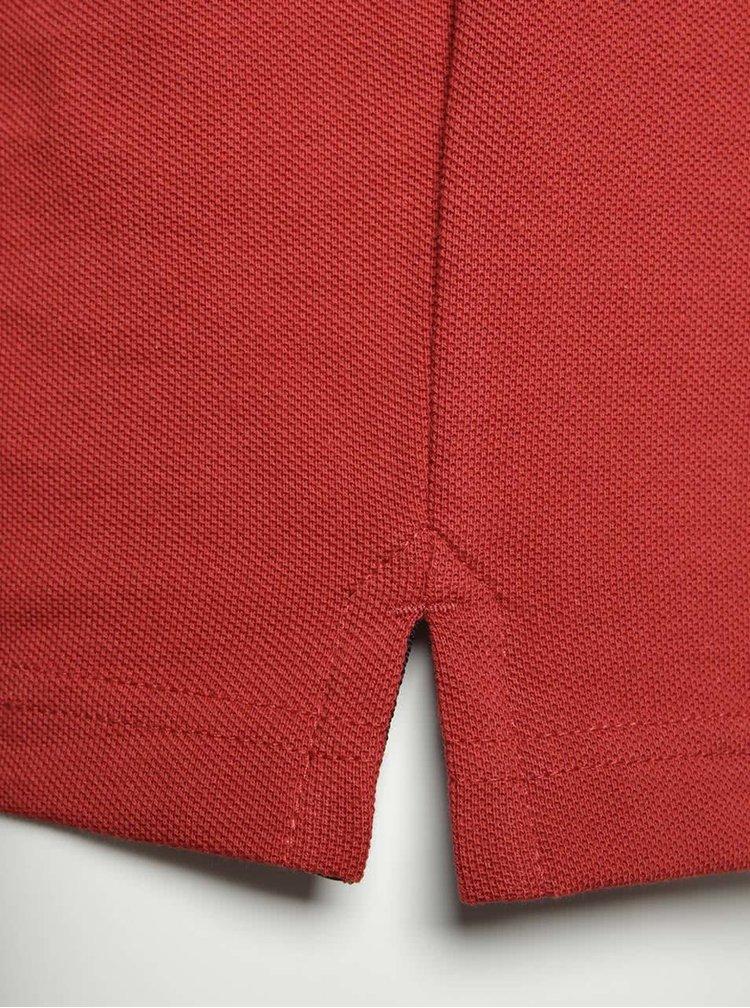 Červené pánské polo triko s.Oliver