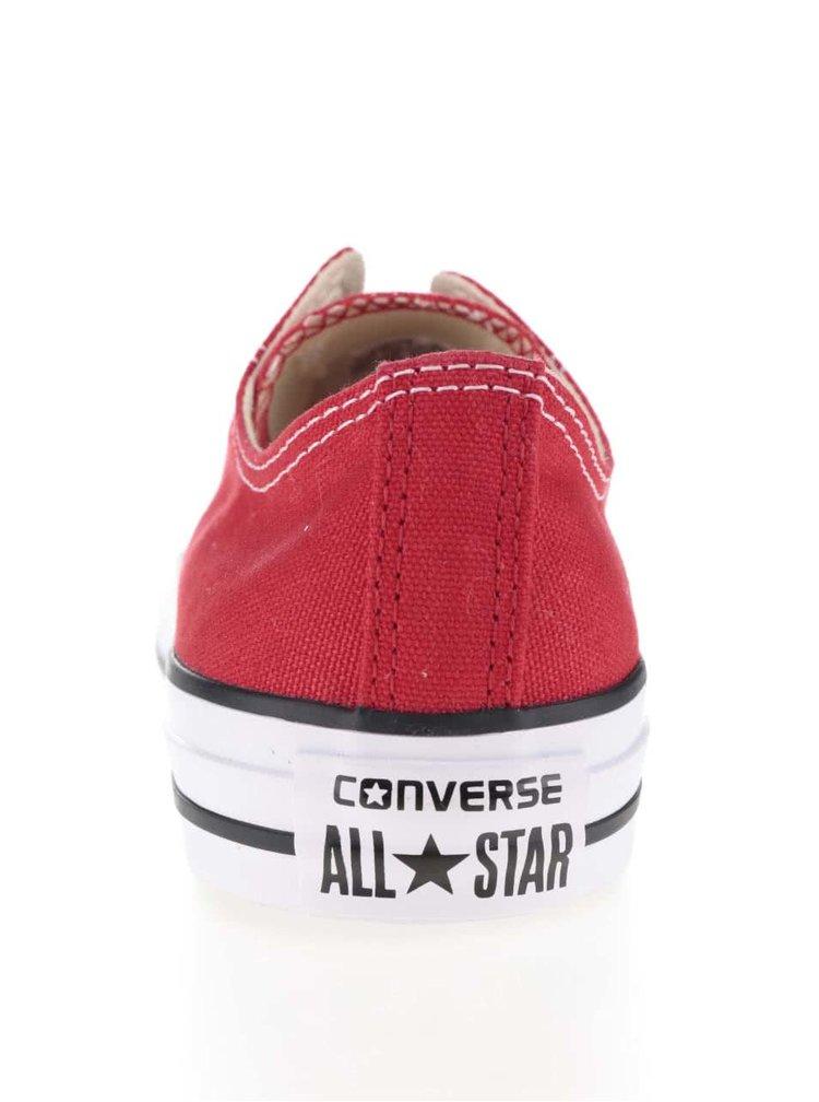 Červené unisex tenisky Converse Chuck Taylor All Star