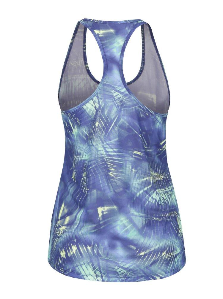Zeleno-modré dámské tílko Nike Dry Training