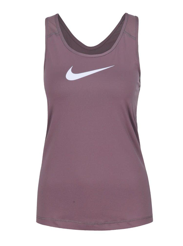 Fialové dámské tílko Nike Pro Tank