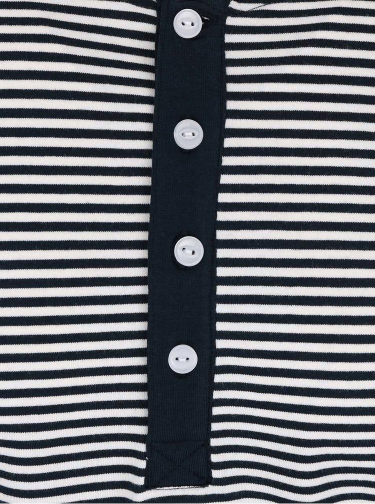 Bluză alb cu negru Lindbergh Sprit în dungi