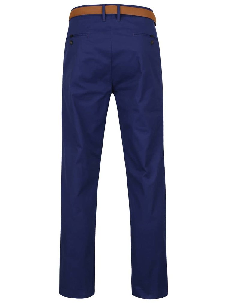 Pantaloni chino slim albaștri Burton Menswear London