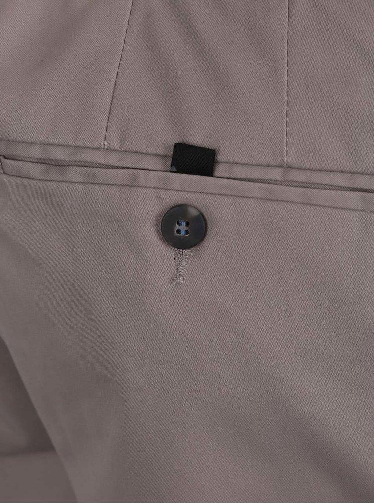 Pantaloni chino slim gri Burton Menswear London