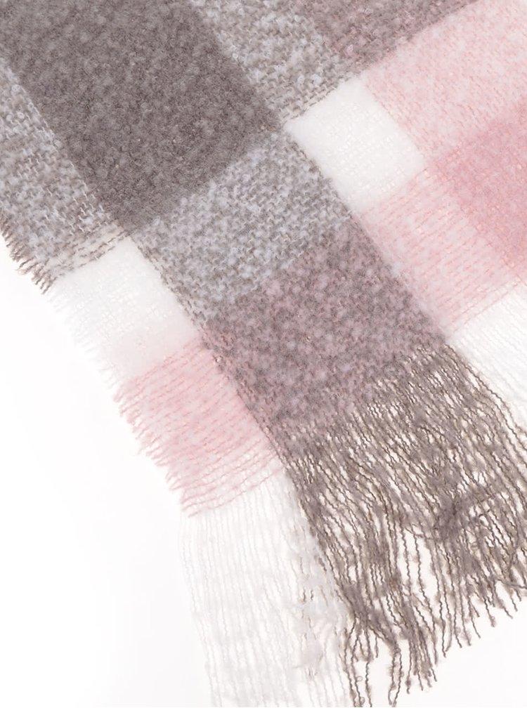 Ružovo-béžový šál Haily´s Sheila