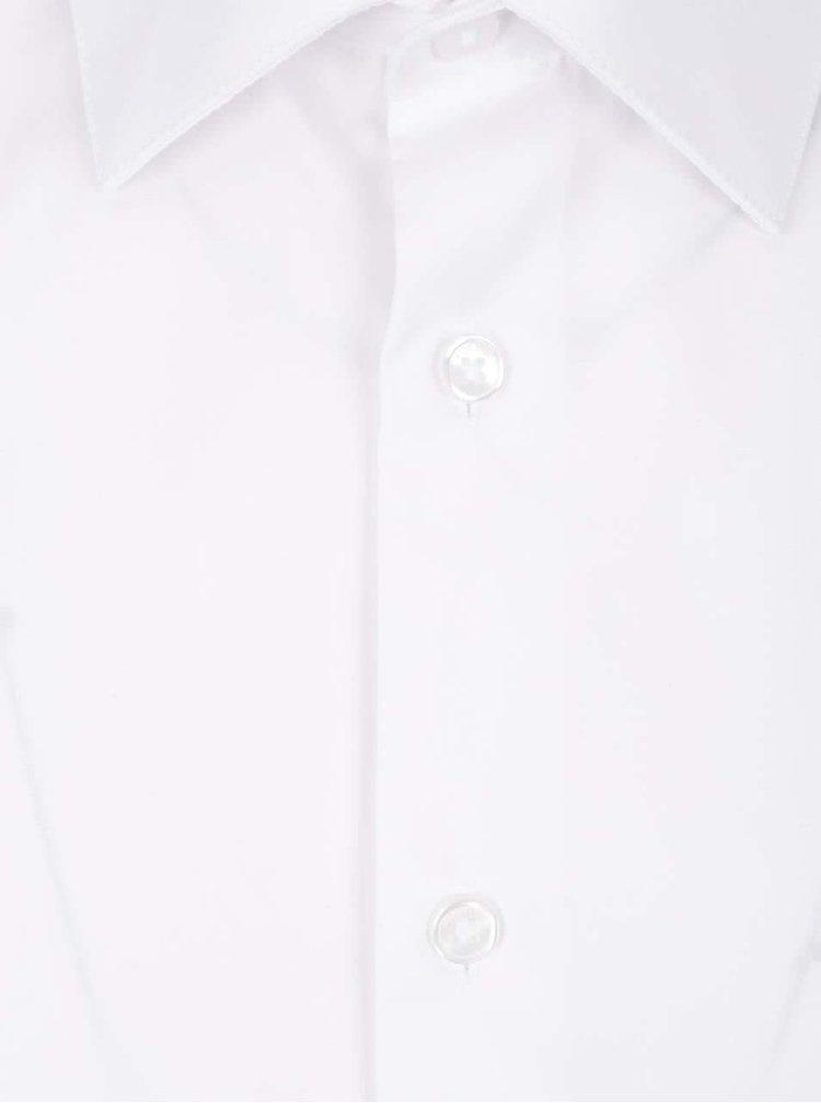 Cămașă albă cu mâneci lungi Burton Menswear London