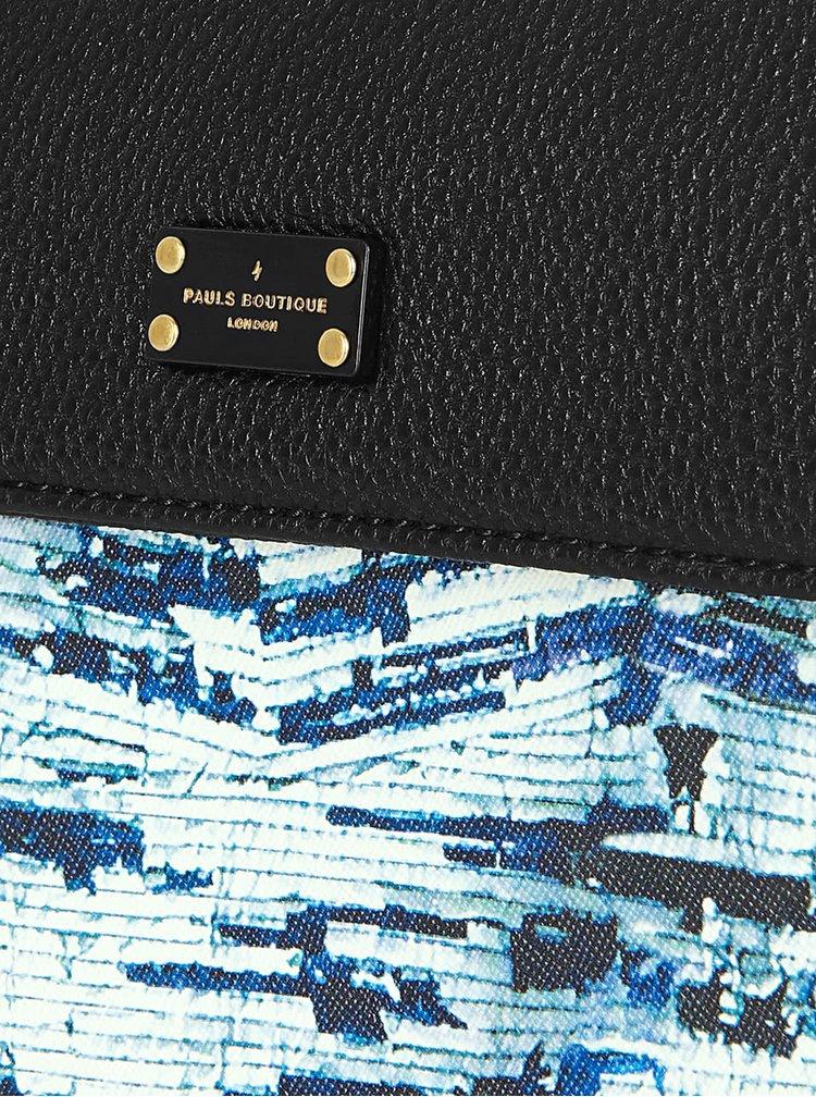 Geanta crossbody negru cu albastru Paul's Boutique Veronica