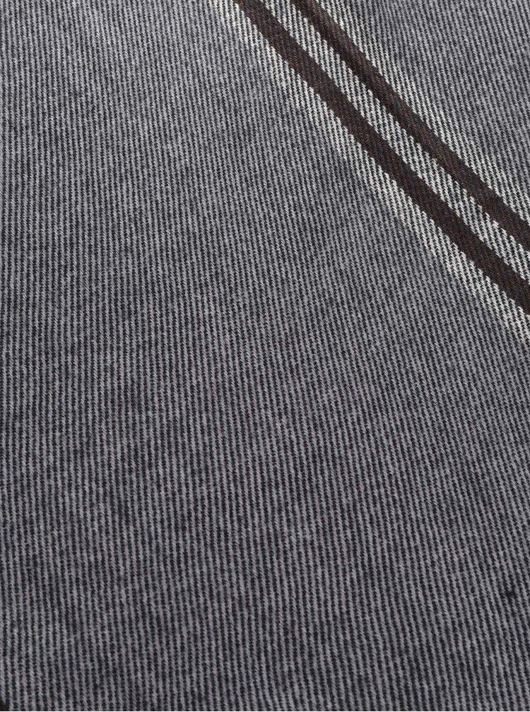 Šedá šála Haily´s Schal 3 Streifen