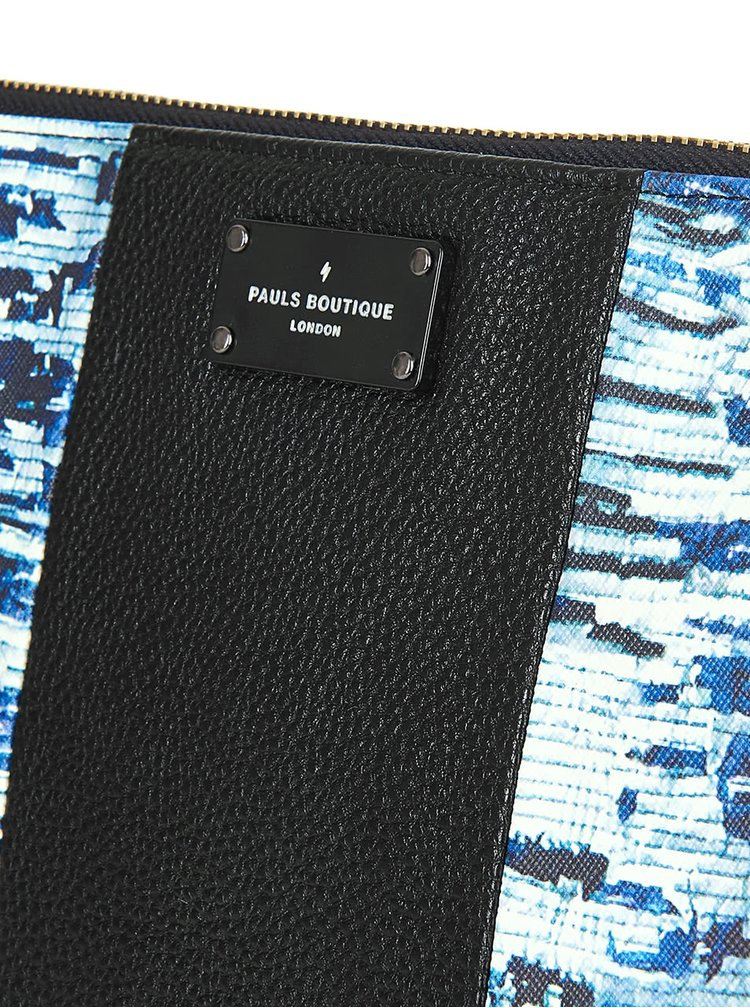 Geanta plic negru cu albastru Paul's Boutique Stephanie