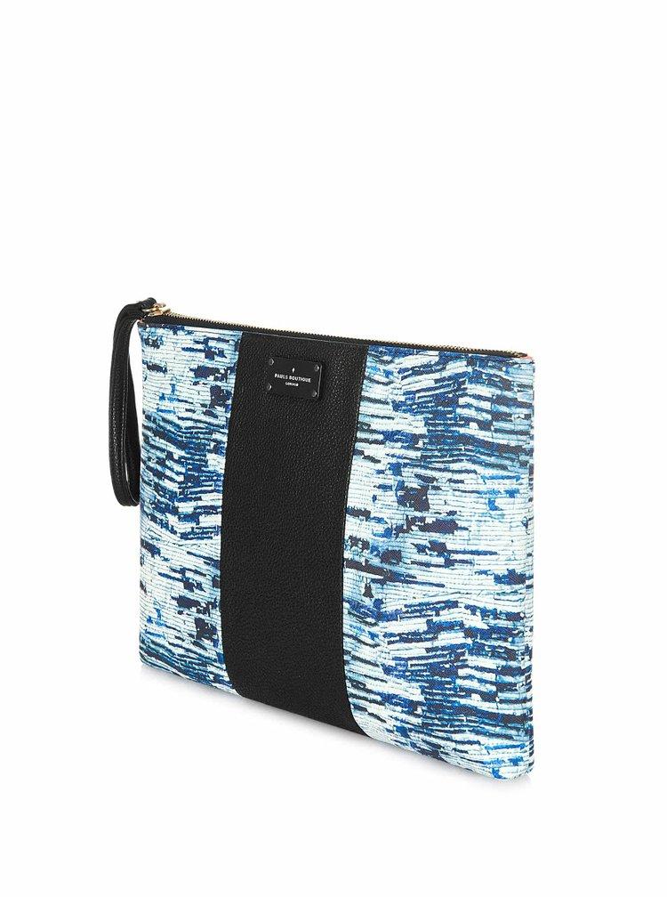 Geantă plic negru cu albastru Paul's Boutique Stephanie