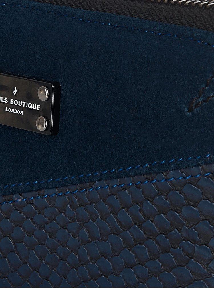 Petrolejová peněženka s detaily v semišové úpravě Paul's Boutique Celia
