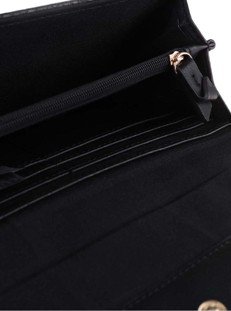 Čierna peňaženka Pieces Pandore