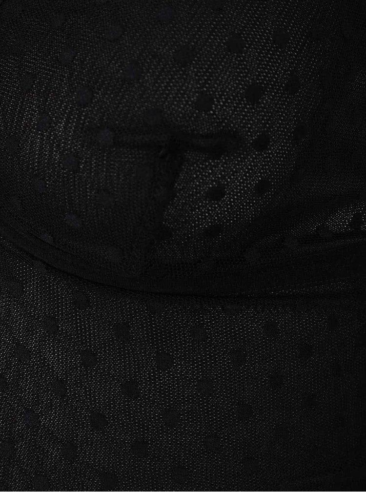 Černé průsvitné body Y.A.S Dotty