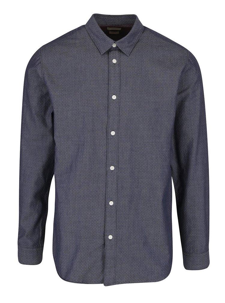 Modrošedá košile Selected Homme Hone Jack