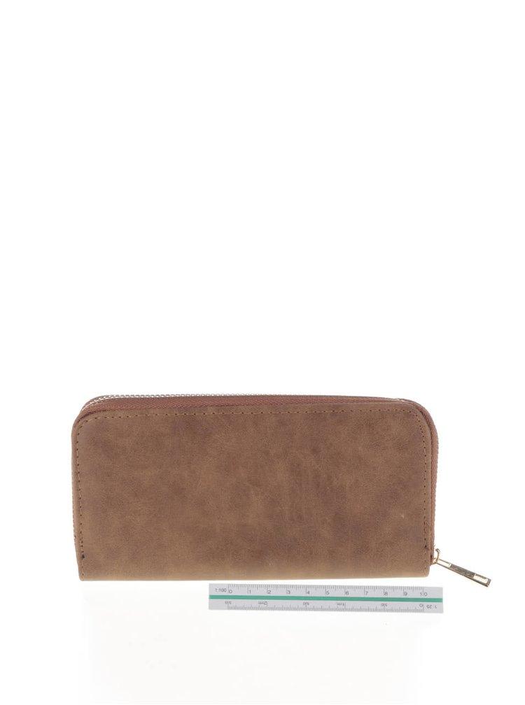 Hnědá peněženka Haily´s Xenia