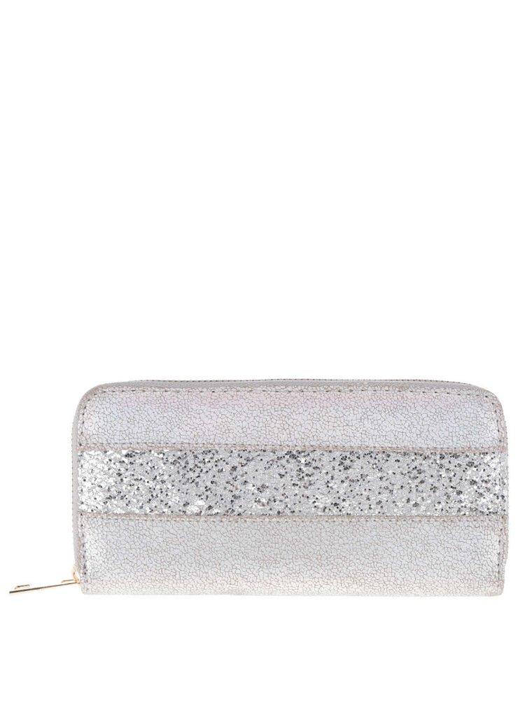 Portofel  Haily's Glitter gri