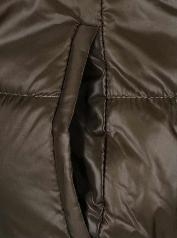 Khaki prošívaná bunda Haily´s Nina
