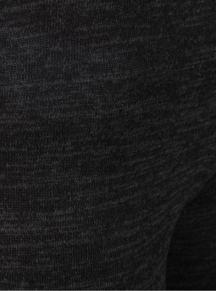 Černé žíhané legíny Haily´s Ola