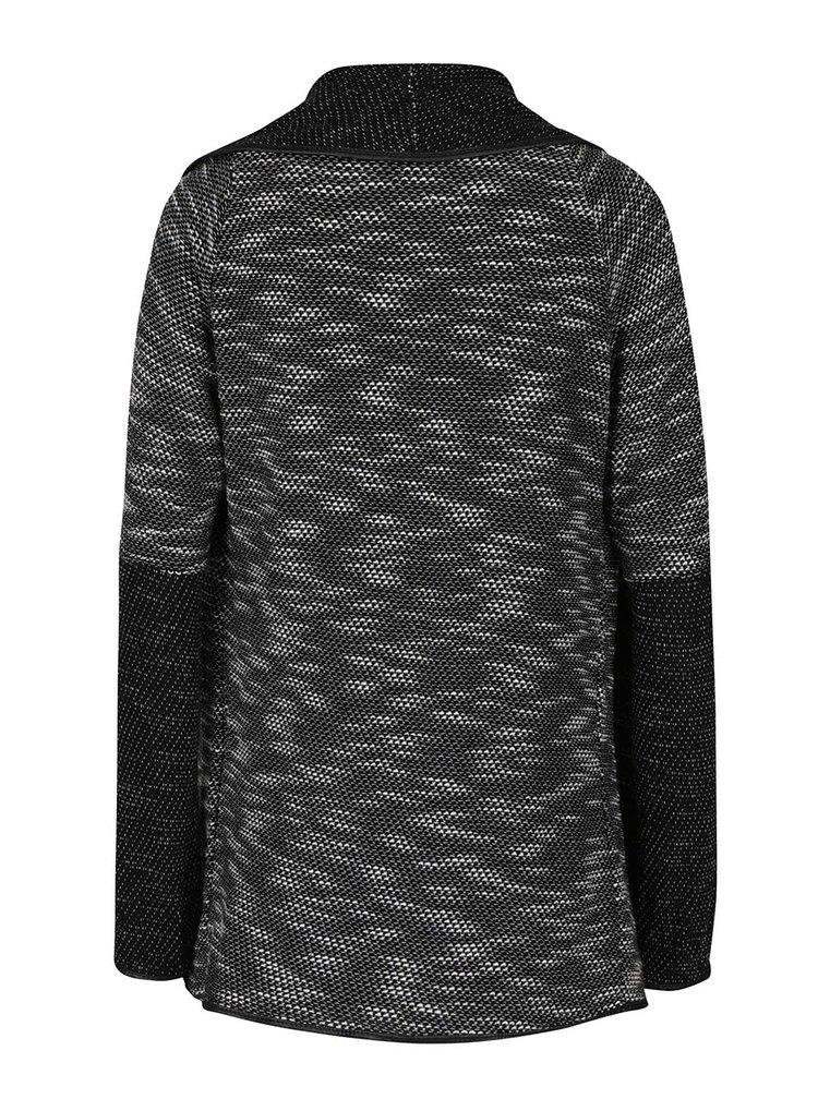 Krémovo-černý žíhaný kadrigan s 3/4 rukávy Haily´s Lena