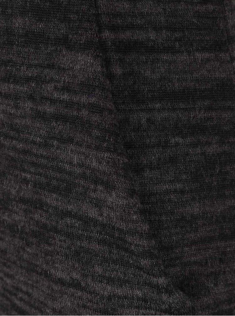 Tmavě šedý žíhaný rolák Haily´s Cally