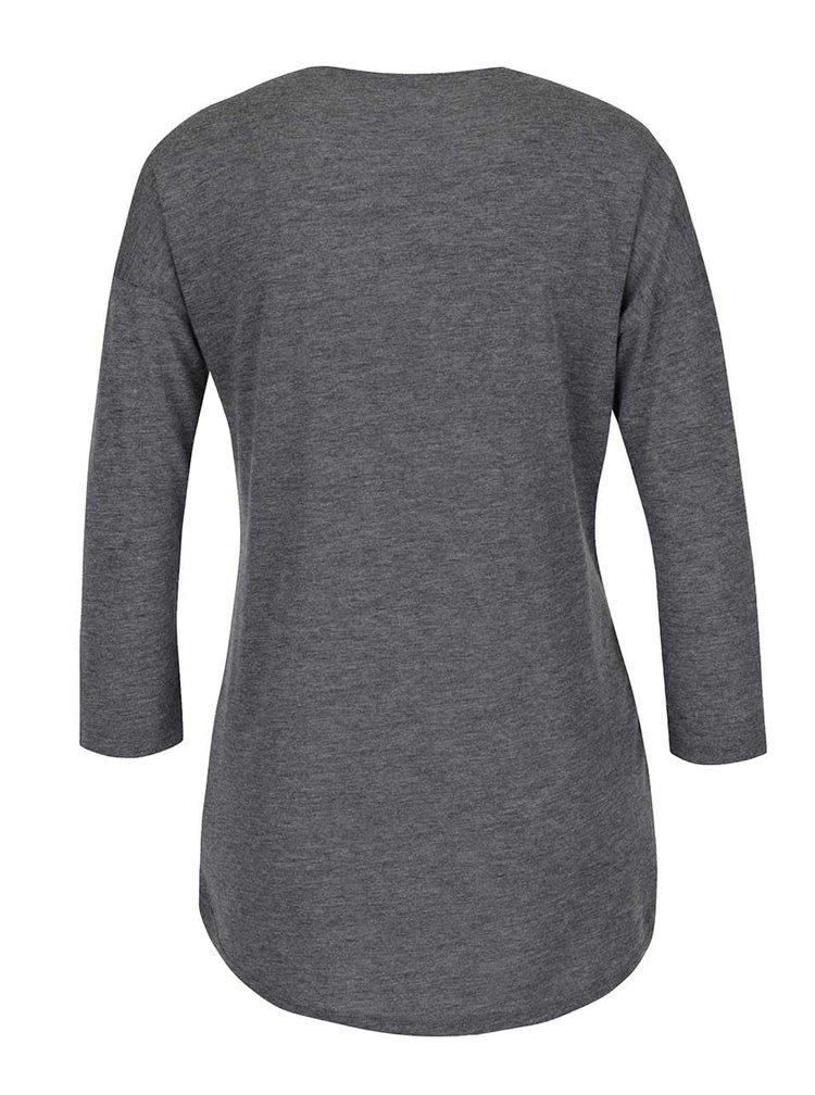 Bluză gri Haily´s Need cu aplicații