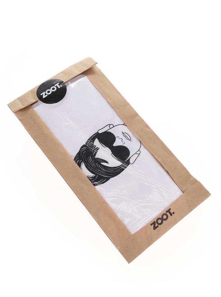 Tricou de damă ZOOT Original Breakfast at Tiffany's alb