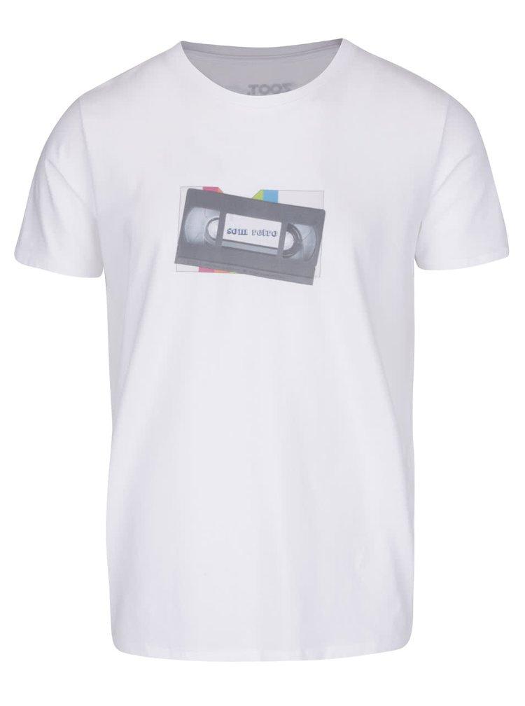 Bílé pánské triko ZOOT Originál Som retro