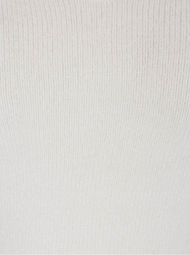 Krémový svetr s průstřihem v dekoltu TALLY WEiJL