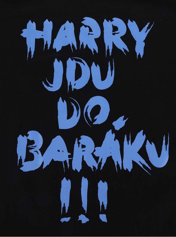Černé pánské tričko ZOOT Originál Harry jdu do baráku