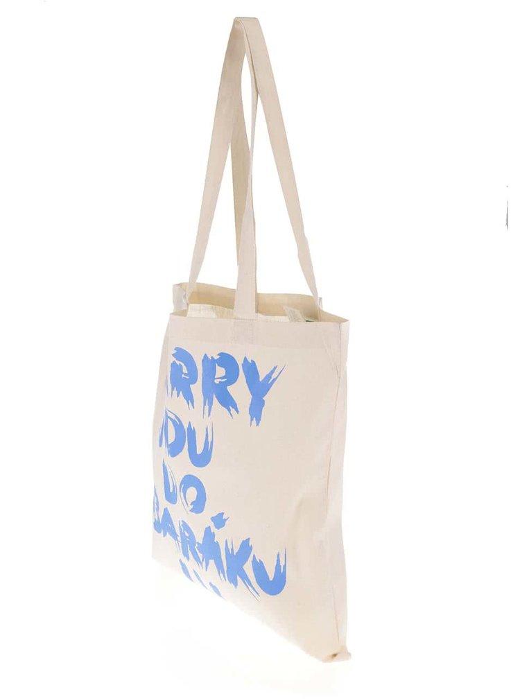 Krémová plátěná taška ZOOT Originál Harry jdu do baráku