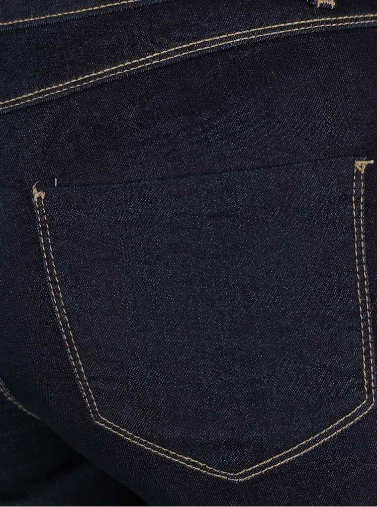 Tmavě modré strečové džíny Dorothy Perkins