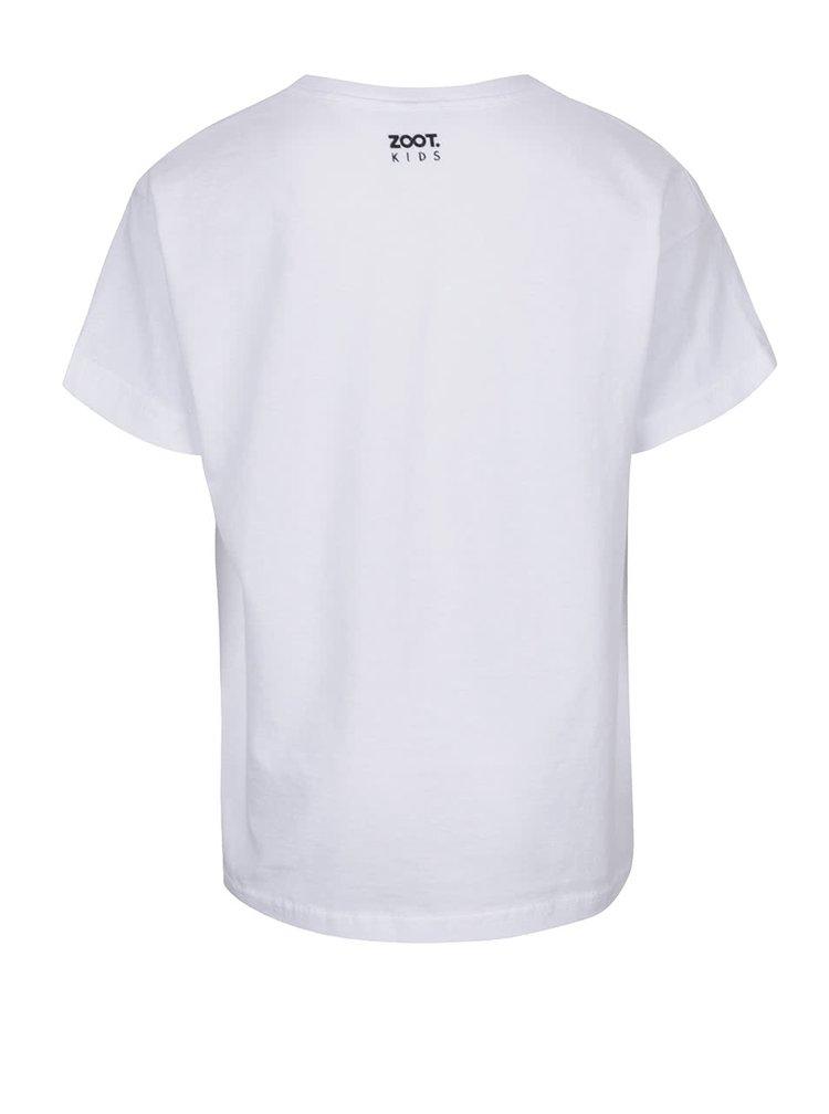 Bílé dětské tričko ZOOT Kids Medvídek Mr. Bean