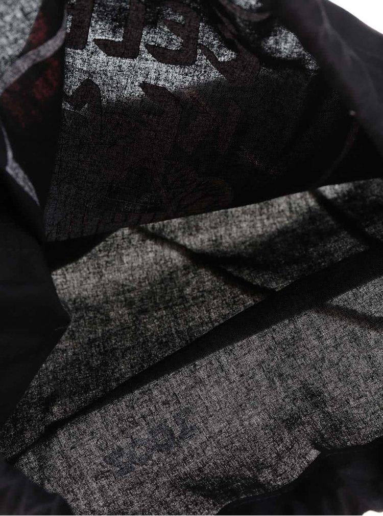 Černý plátěný vak ZOOT Originál Čelem ke mně