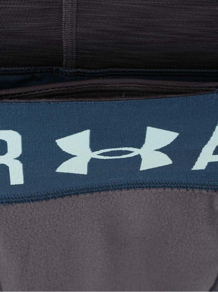 Zeleno-šedé dámské sportovní legíny Under Armour ColdGear
