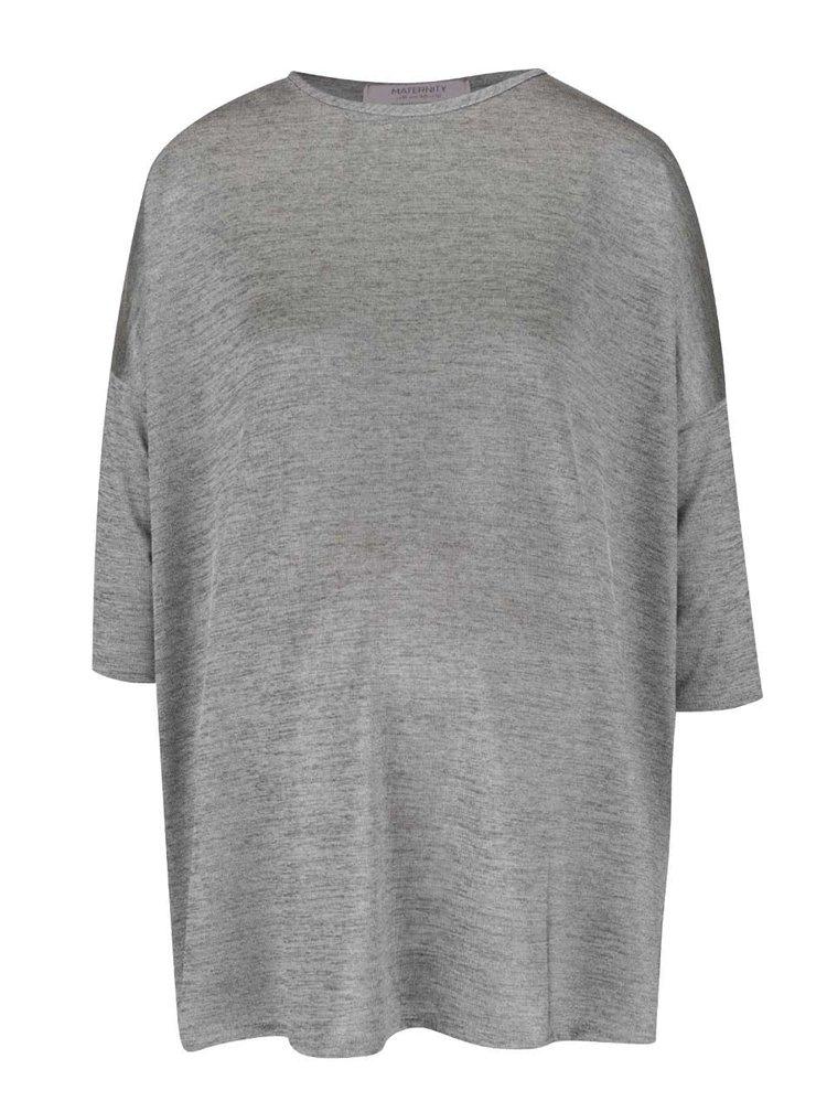 Bluză gri melanj pentru gravide Dorothy Perkins Maternity