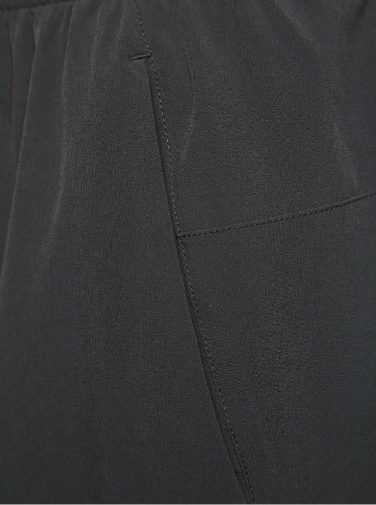 Tmavě šedé pánské sportovní kraťasy Nike Flex