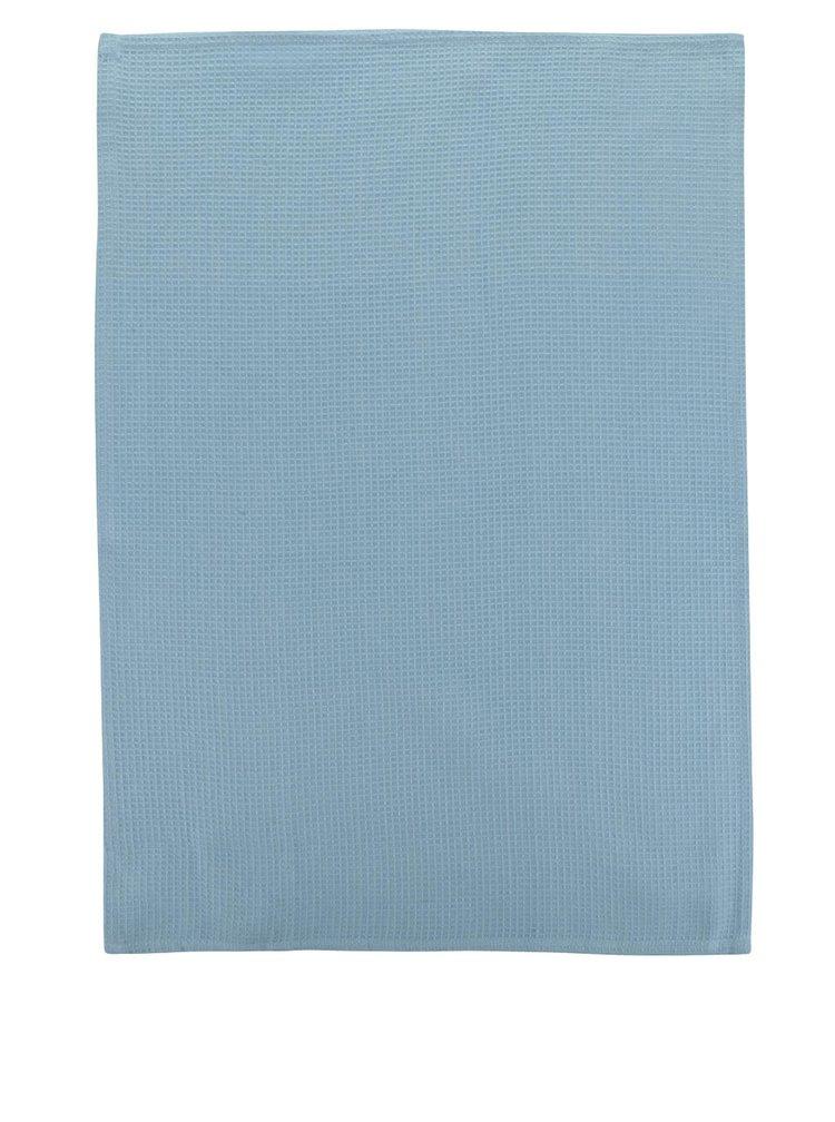 Súprava troch modro-krémových utierok s motívom psov Cooksmart