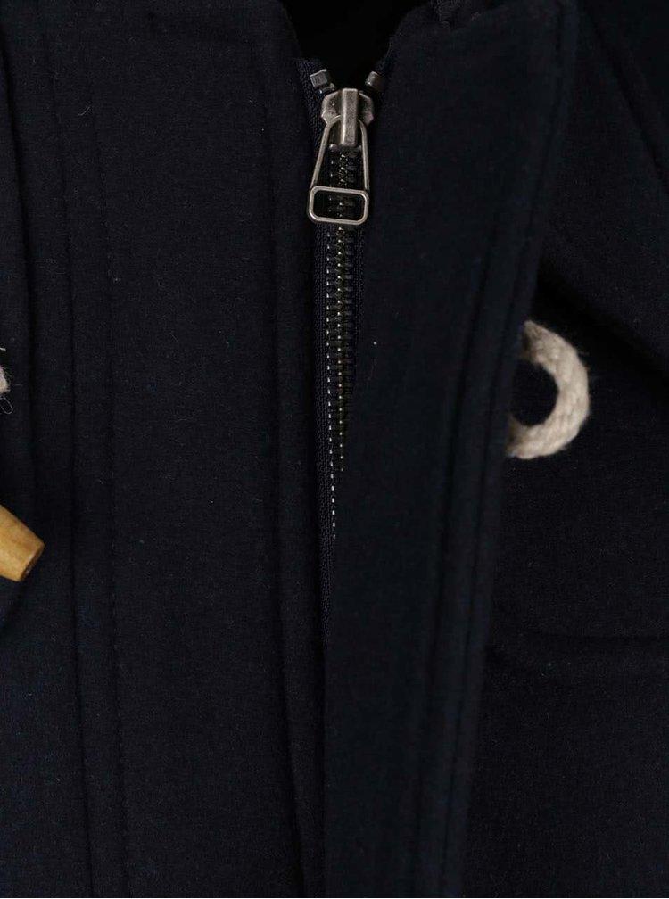 Palton bleumarin Jack & Jones Danny cu gluga
