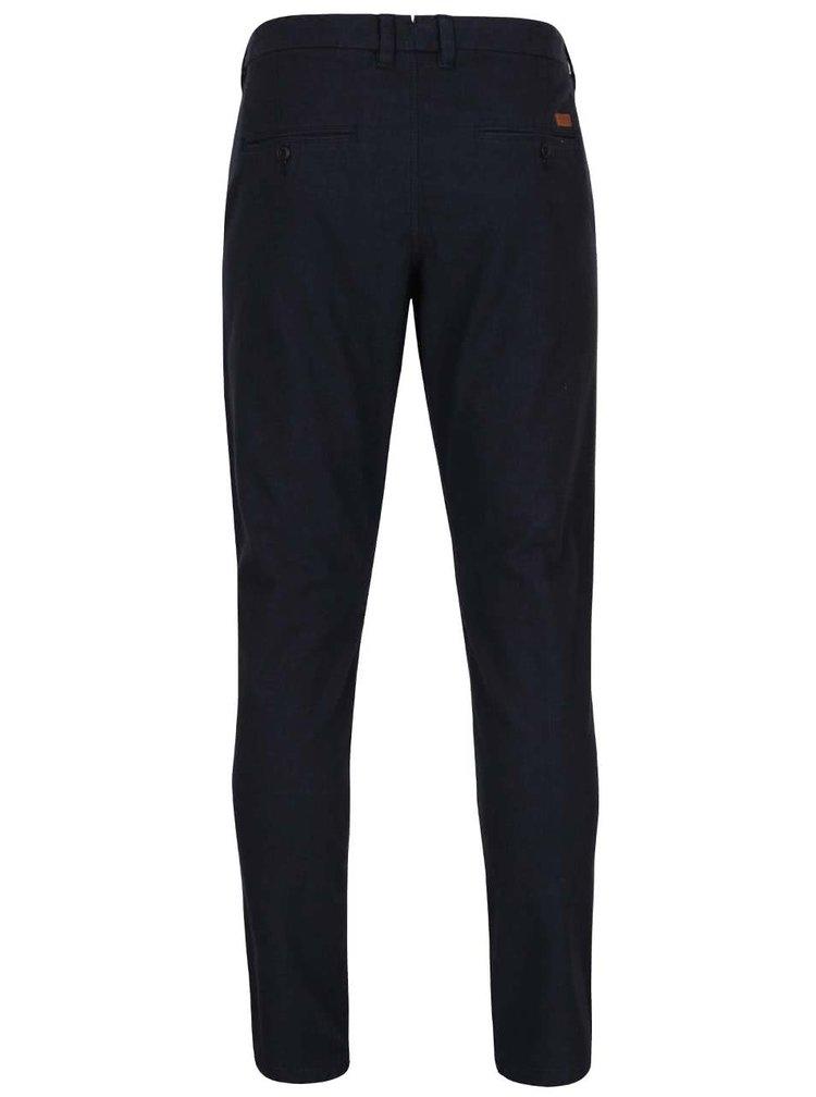 Pantaloni chino albastru închis Jack & Jones Marco